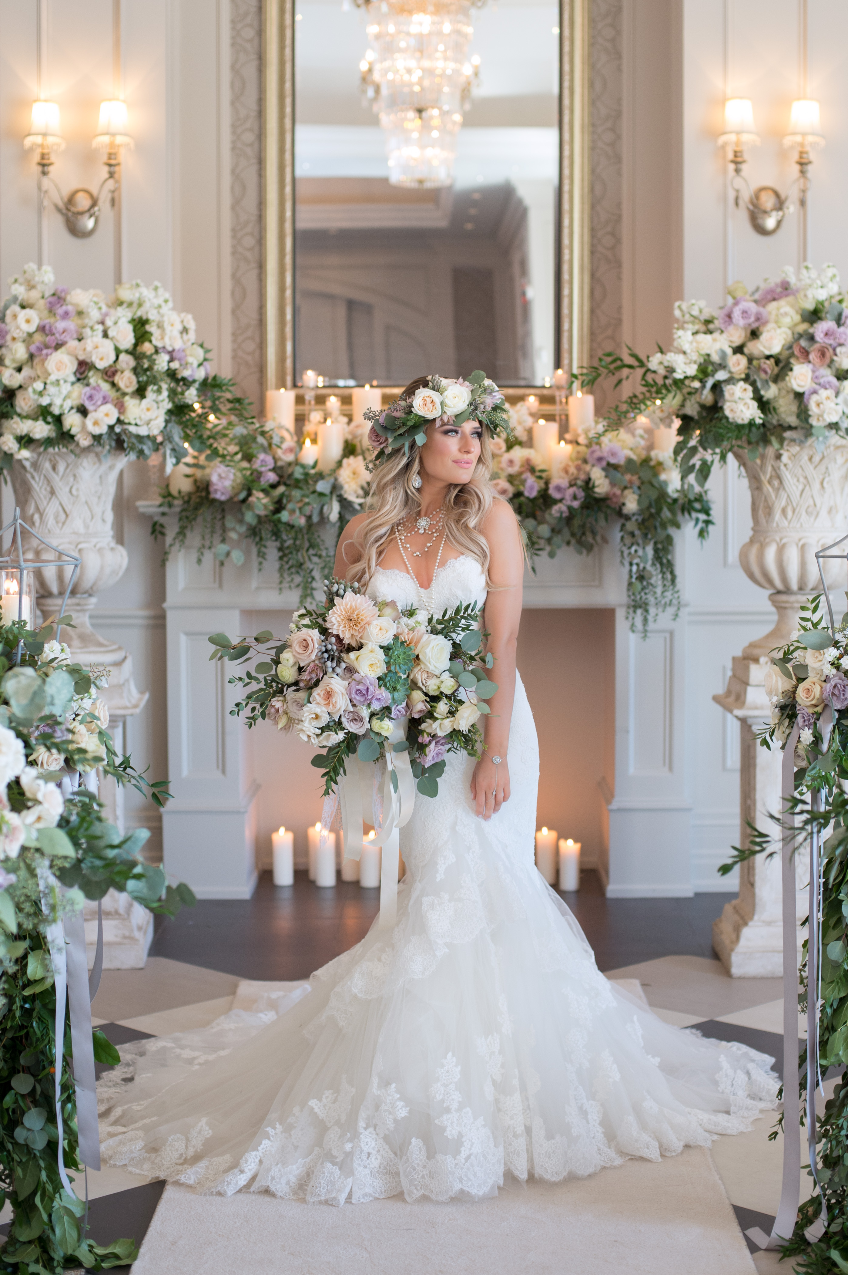 An Enchanted Garden Wedding Inspired By Old World Romance